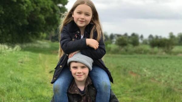 Harper Beckham tiene un tierno detalle con su hermano