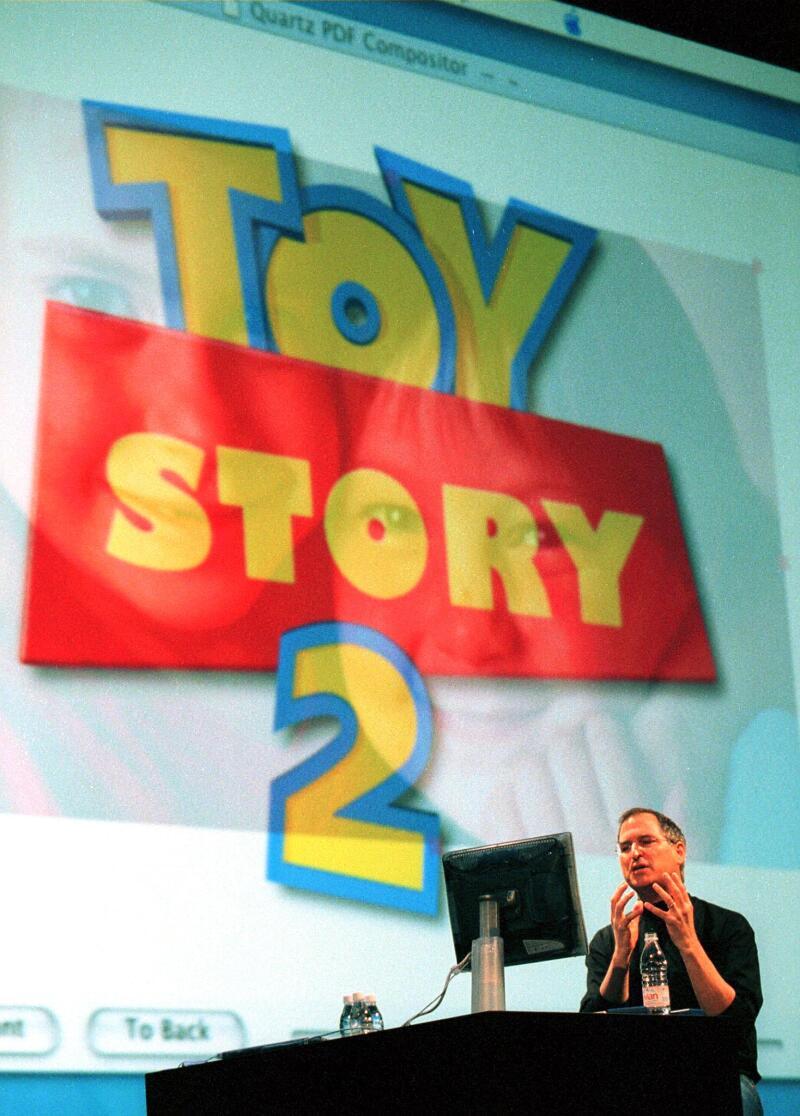 Pixar, el gran impulsor de Jobs