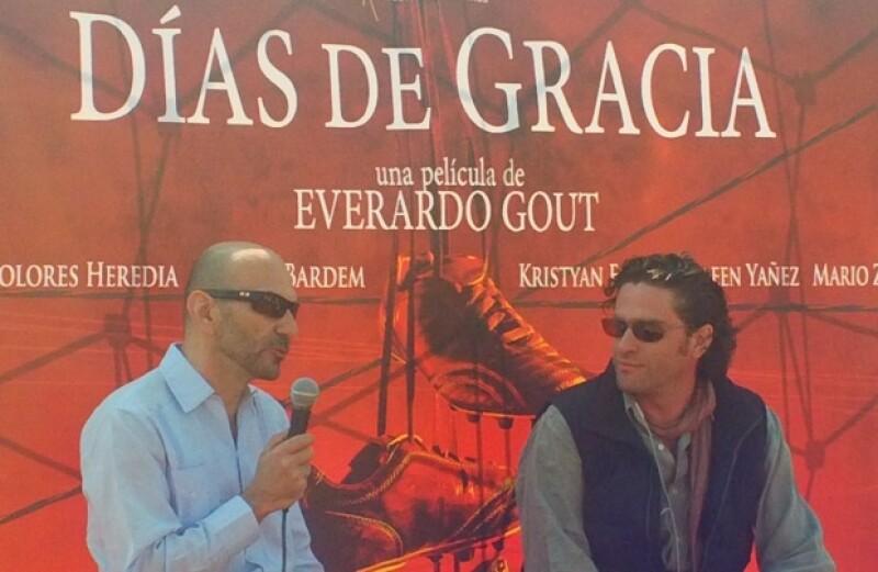El reconocido editor francés cinematográfico se dijo muy contento de trabajar con el director mexicano Everardo Gout en el filme que combina la temática del futbol y violencia.