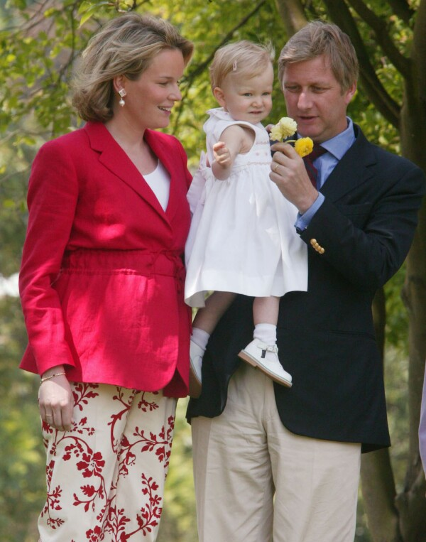 Belgian Royal Family Invite Media For Informal Photos