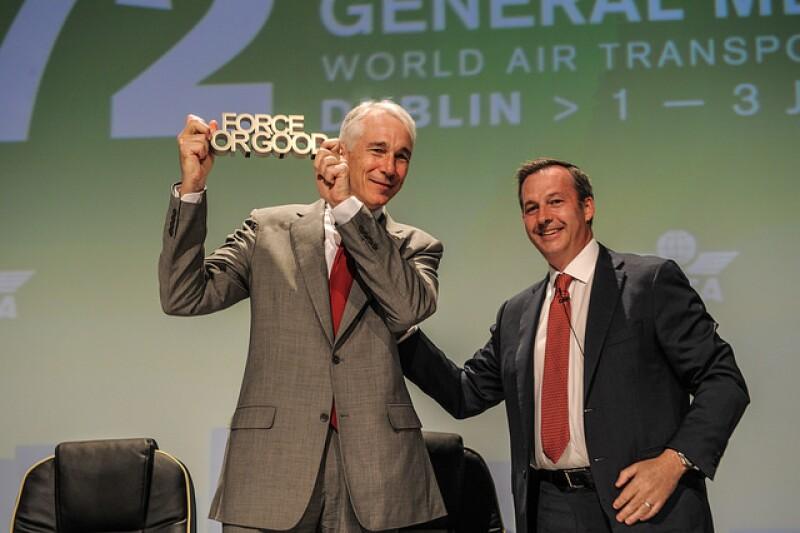 El crecimiento de pasajeros en México será de 4.1% hasta 2020, estima la IATA