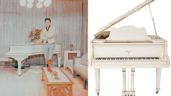 A pocos días del aniversario luctuoso del Rey del Rock, una casa de subastas pone a la venta un piano de cola que podría alcanzar el millón de dólares.
