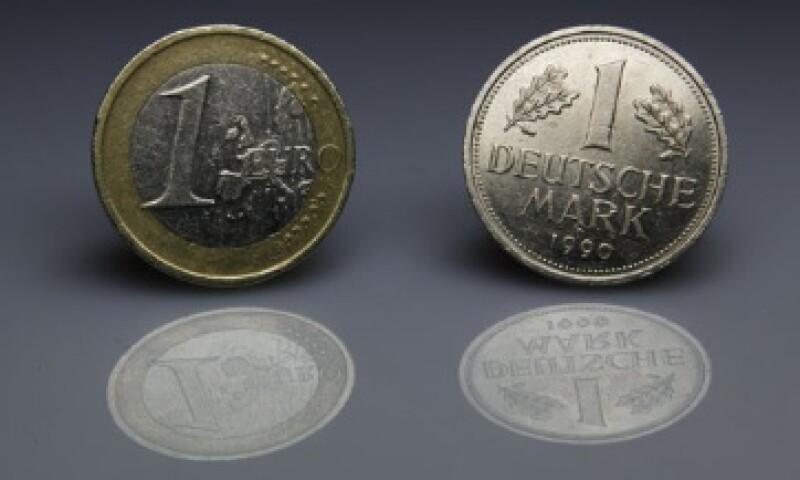El 65% de los alemanes considera que el euro está amenazado.  (Foto: Archivo)