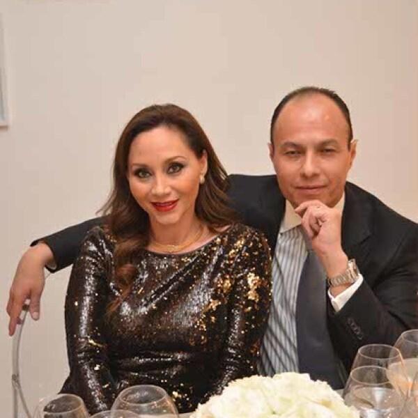 Lourdes y Mario Salazar.
