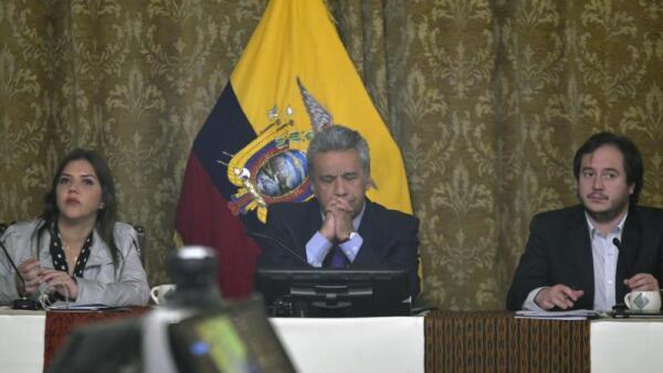 Ecuador confirma el cese de su vicepresidente por escándalo de Odebrecht