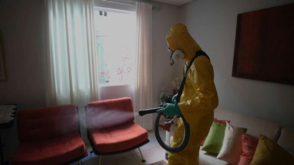 Desinfección a domicilio, la estrategia de una empresa para sobrevivir la crisis