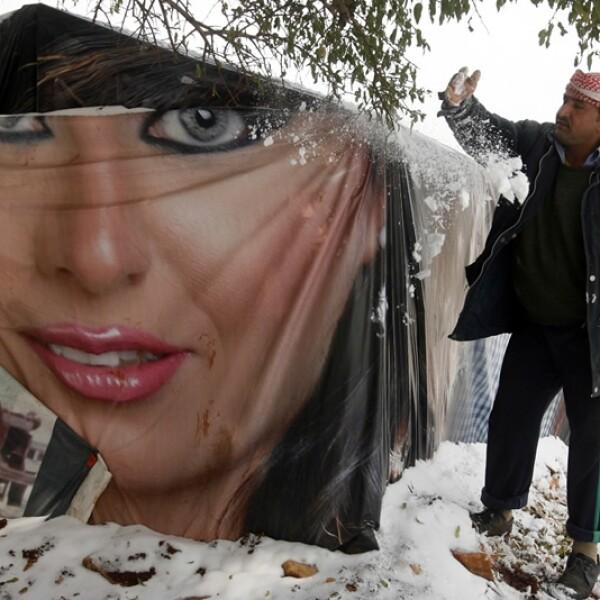 refugiados sirios padecen el frio