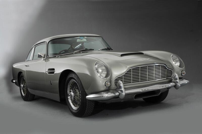 Aston Martin DB5 photoshoot