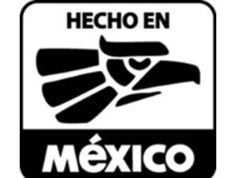 El logotipo de Hecho en México. (Foto: Cortesía)