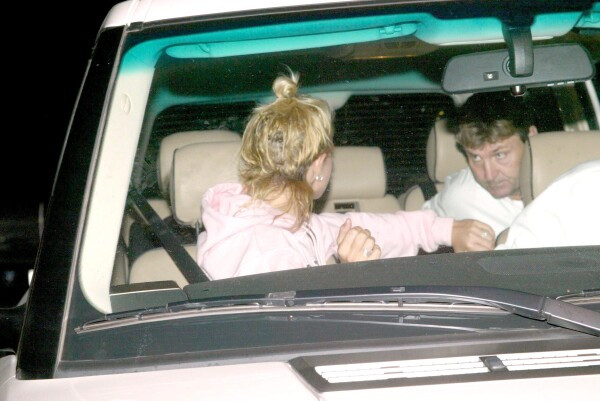 BRITNEY SPEARS DAD COMES OUT OF REHAB, CALIFORNIA, AMERICA - 21 AUG 2004