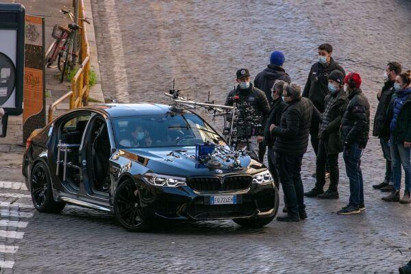 Mission Impossible 7 - Libra' on set filming, Rome - 26 Nov 2020
