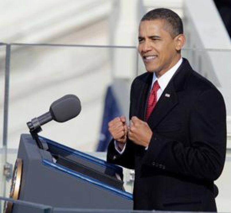 Las palabras del presidente de Estados Unidos luego de su juramentación.