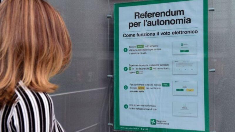 Votaciones en dos regiones
