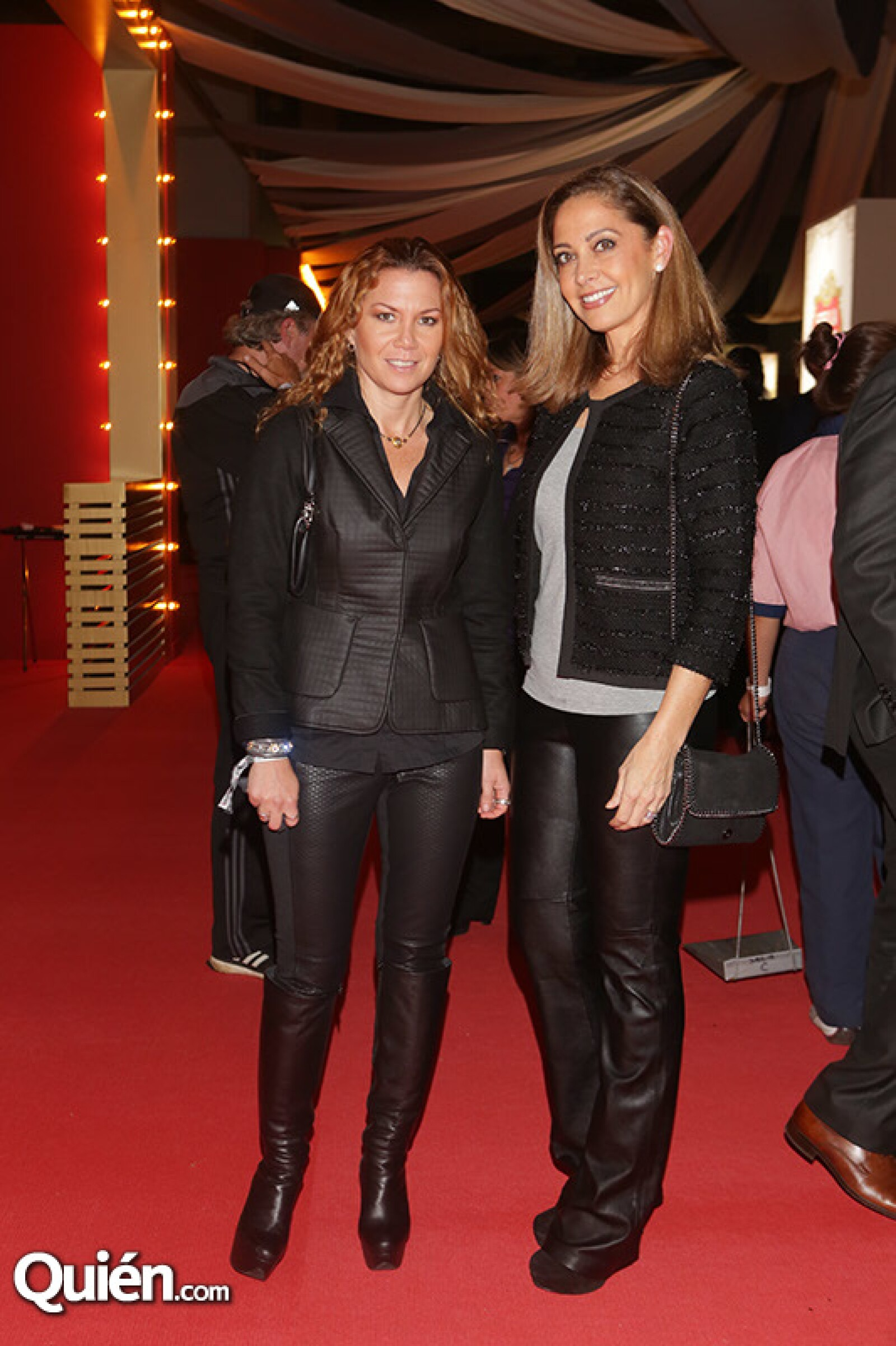 Leila Canavatti y Mónica Cortina