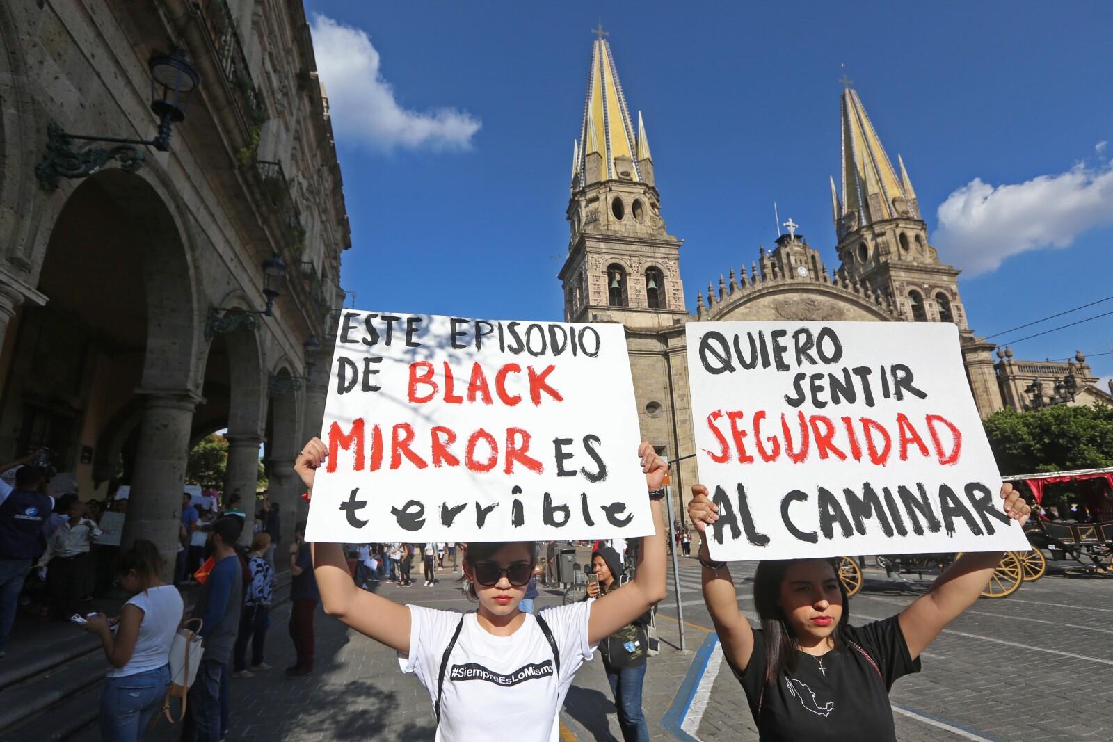 Marcha en Guadalajara 4