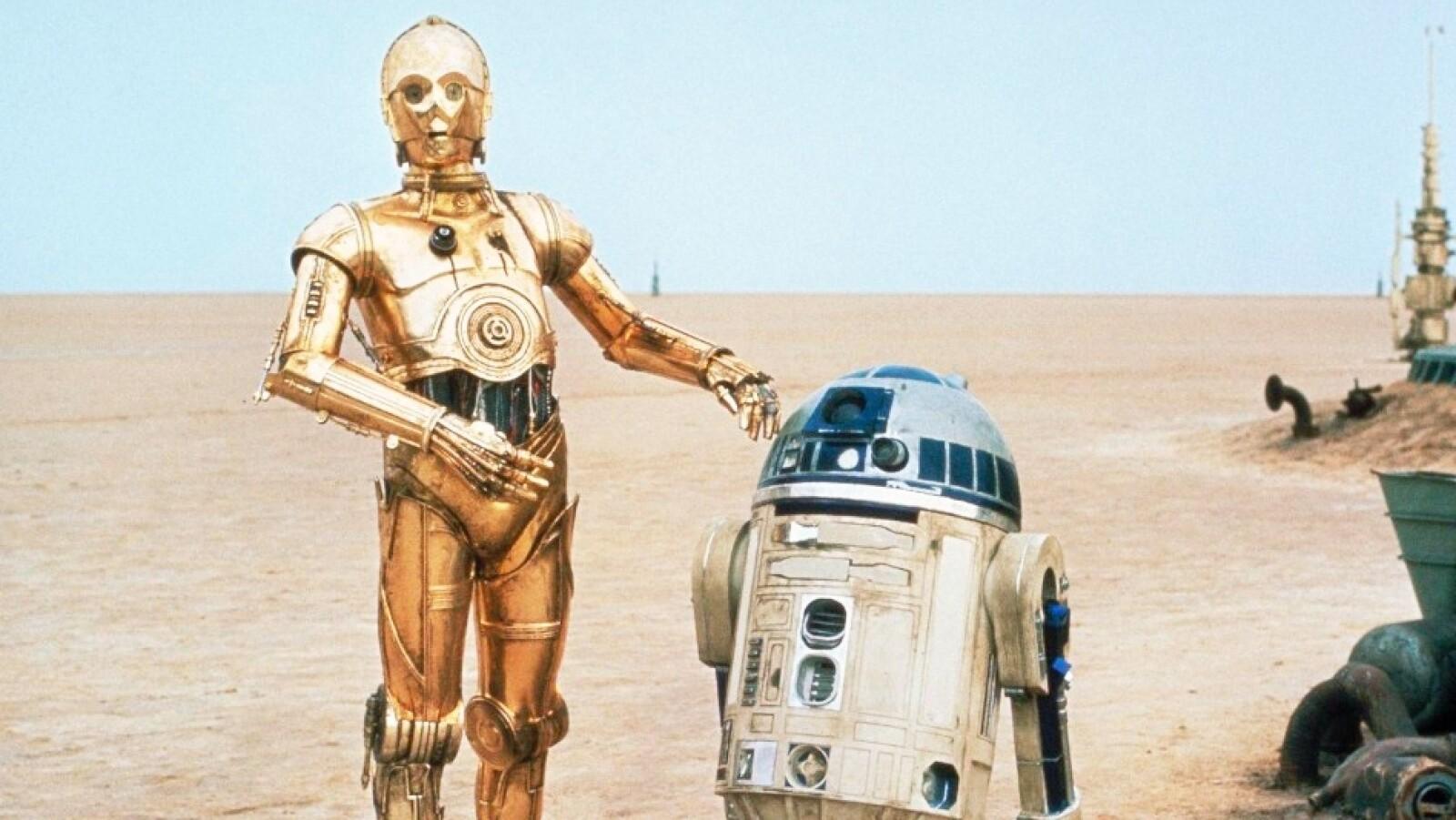 R2-D2 y C-3PO de ?Star Wars?