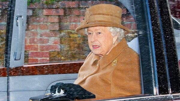 Queen Elizabeth attends church service, Sandringham, Norfolk, UK - 12 Jan 2020