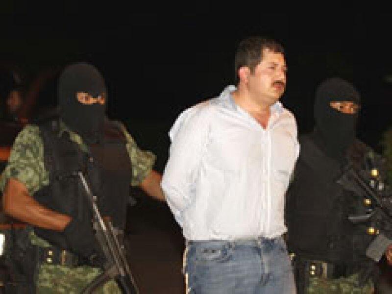 Huerta Ríos fue detenido junto con otras cuatro personas en San Pedro Garza García. (Foto: Reuters)