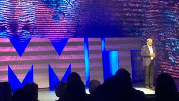 Shantanu Narayen, presidente ejecutivo de Adobe. (Foto: Isabel Ferguson)