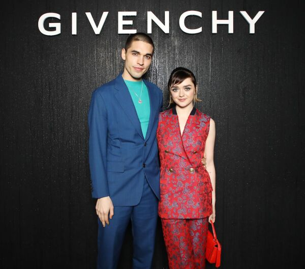 Givenchy show, Front Row, Fall Winter 2020, Paris Fashion Week, France - 01 Mar 2020