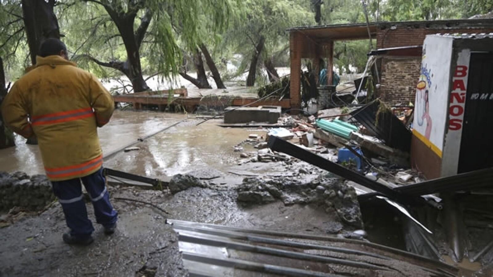 morelos, mexico, lluvia, desastre