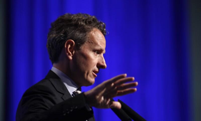 Geithner no mencionó los nombres de los oponentes a los que se refería, pero las autoridades republicanas han expresado su oposición a algunas reformas. (Foto: Reuters)