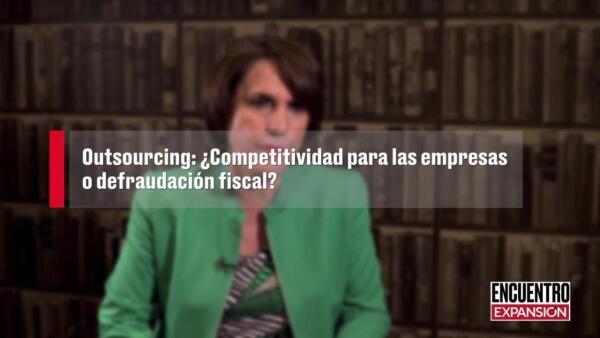 El 'outsourcing' es el gran pendiente de la reforma laboral: Patricia Mercado