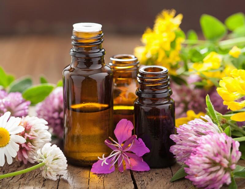 Los aceites esenciales te ayudarán a relajarte antes de dormir.