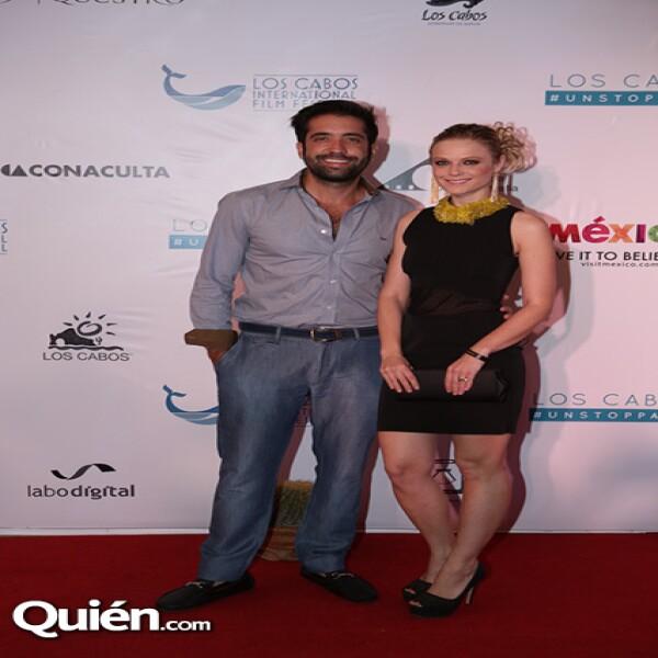 Rodrigo Moreira y Ana Layevska