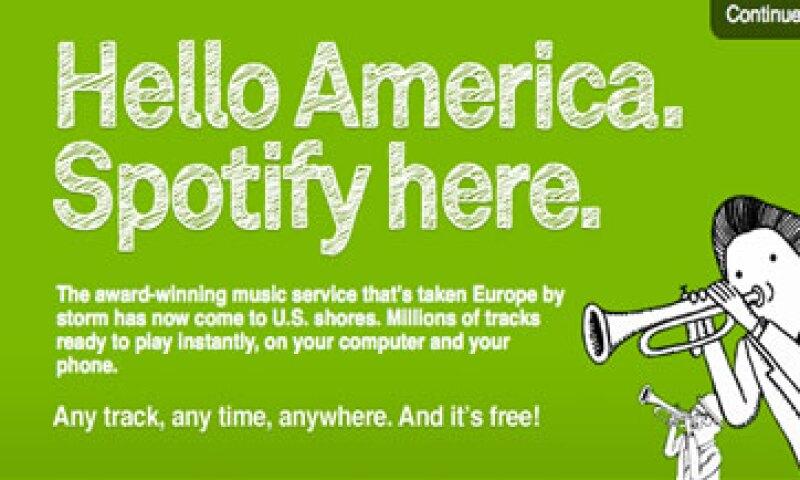 Spotify tiene 3 millones de clientes de pago para su servicio bajo demanda. (Foto: AP)