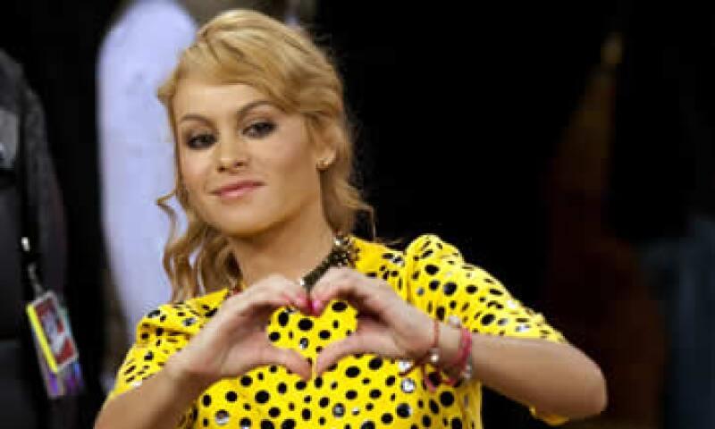 El proceso contra Paulina Rubio inicia en la semana en que lanza su nuevo disco Brava. (Foto: AP)