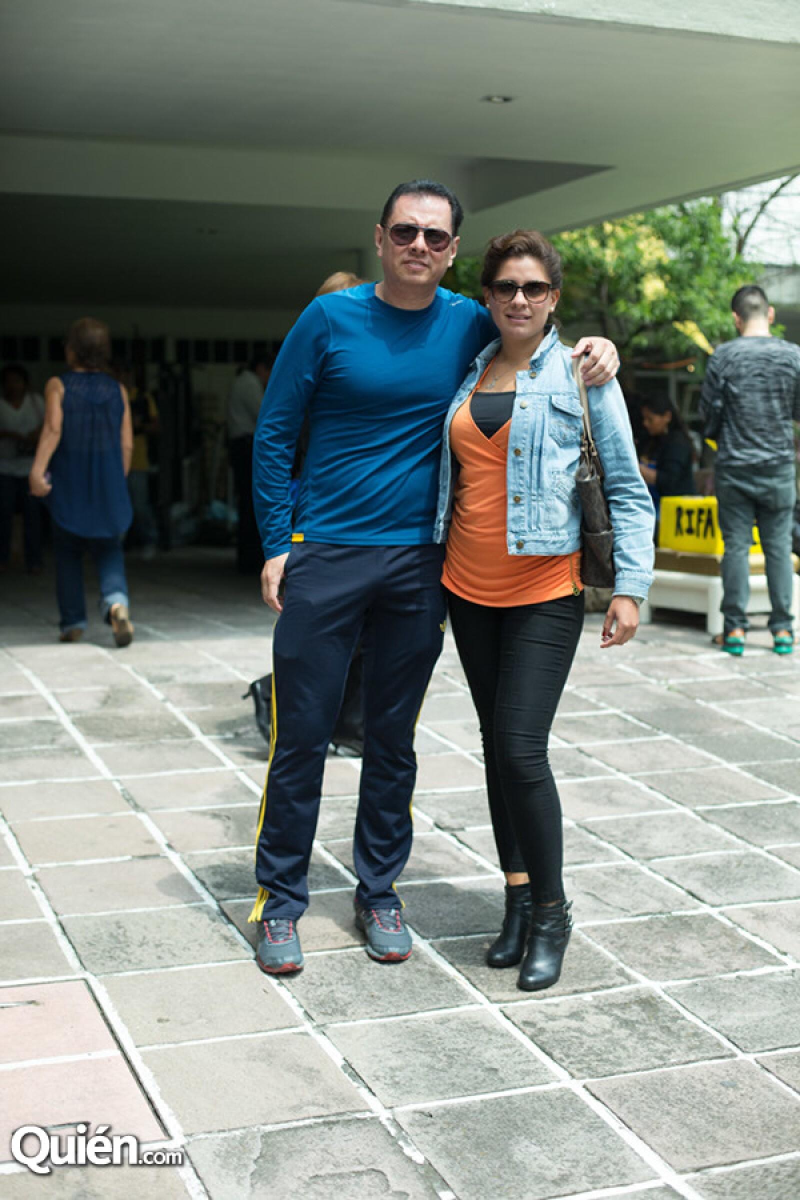Félix Pestaña y Melissa Martínez