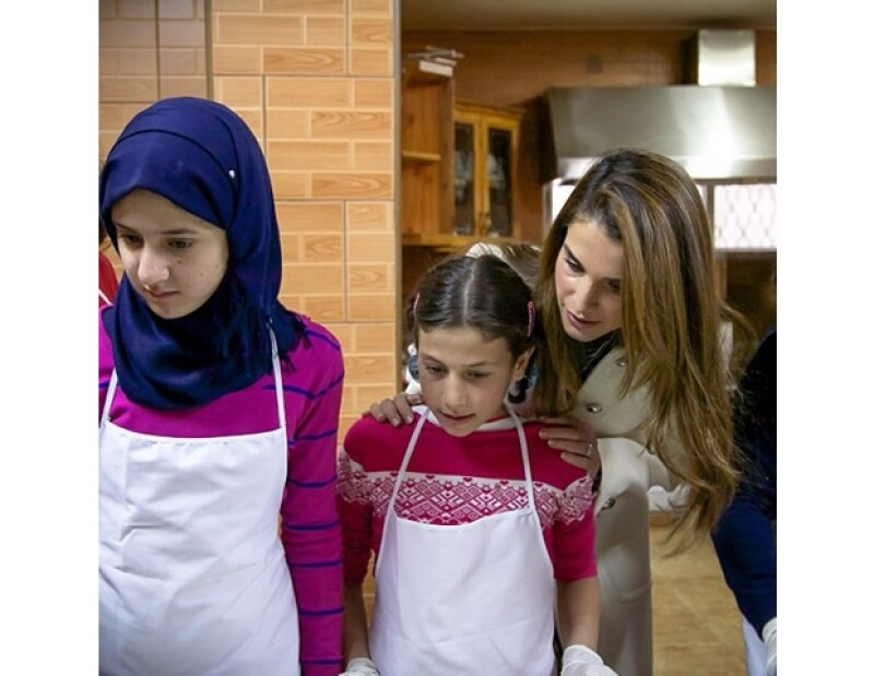 Rania pide siempre en Instagram que le gente no se olvide de los más necesitados.