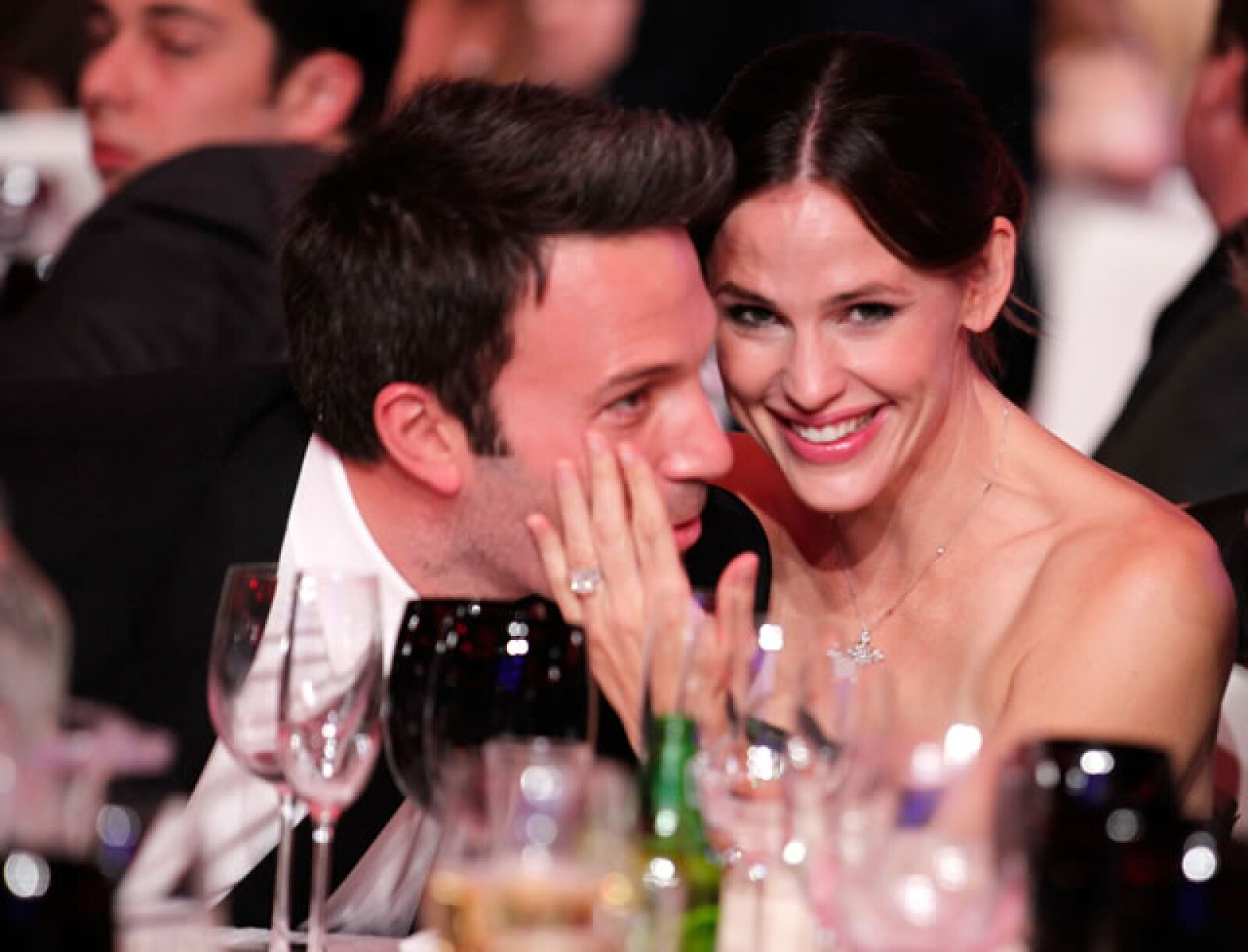 Un año antes de Argo, Ben y Jennifer asistieron a los Critic Choice Awards, luciendo más felices que nunca.
