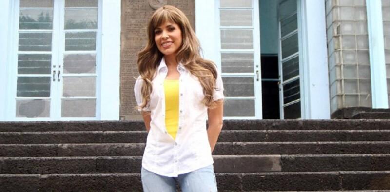 La intérprete de Cinco Minutos aseguró que está dispuesta a realizar un concierto a favor de Monterrey.