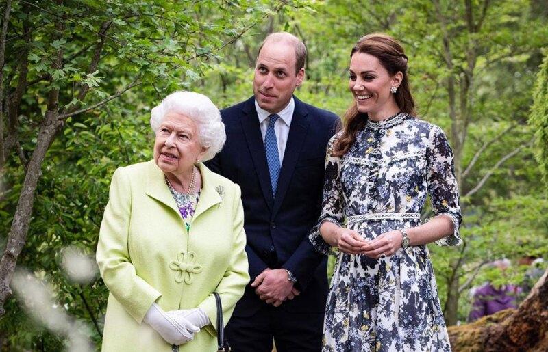 Reina, Kate y William