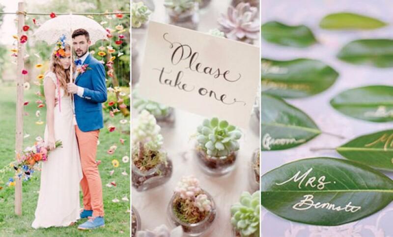 Ahora, la naturaleza y su bienestar es parte importante de las bodas.