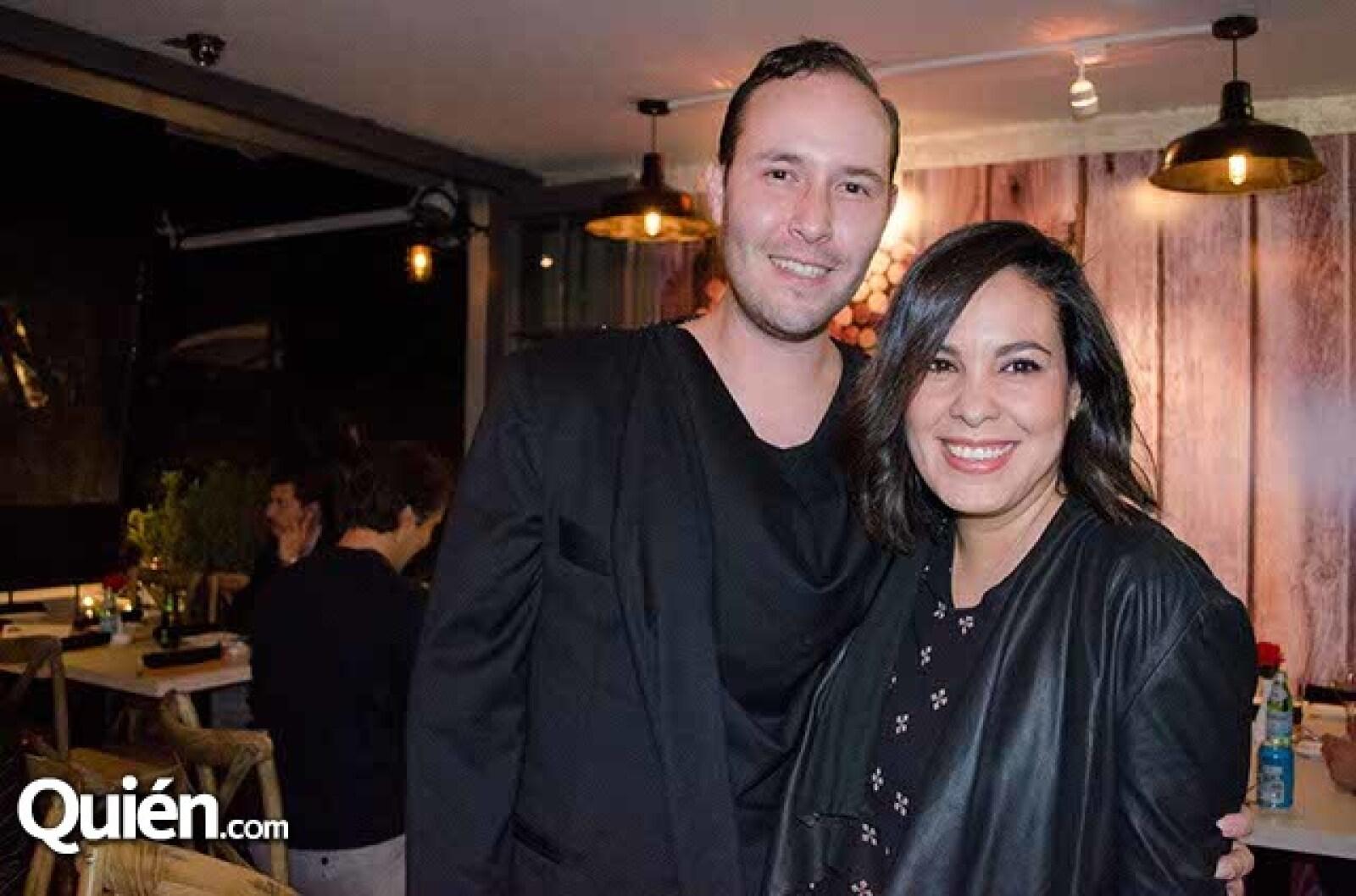 Jimena Cardona y Mauricio Mejía