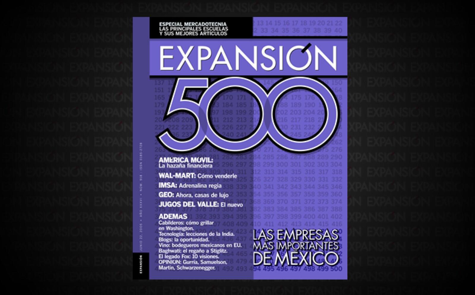 Gobierno corporativo era el tema que comenzaba a ser parte de la agenda empresarial luego del caso Enron. Jugos del Valle, una de 'Las 500', era pionera y Expansión contó la historia.