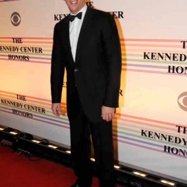 El actor Harry Connick Jr. desfiló solo por la alfombra roja.