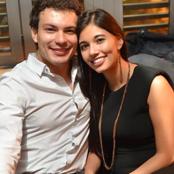 Mario Malfavón y Alin Piña Loo.