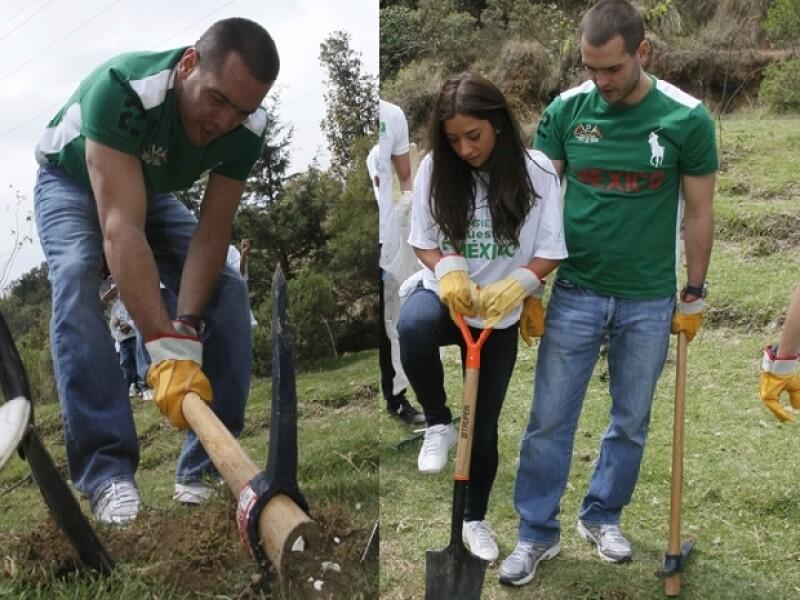 Jorge Emilio González y María en Cuajimalpa.