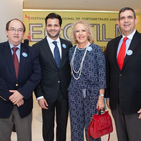Vidal Garza, Rafael Pacchiano, Mercedes Alemán, Alex Theissen.jpg