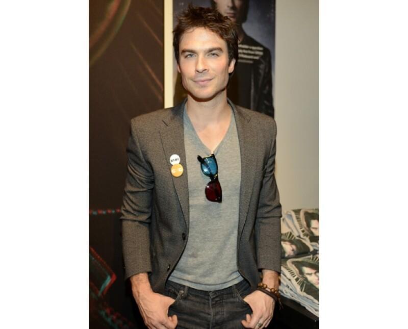 """De acuerdo con Daily Mail, él y Alexis Bledel encabezan las preferencias para interpretar a los protagonistas de 50 Shades of Grey. Él es protagonista de """"The Vampire Diaries"""" y ella de """"Mad Men""""."""