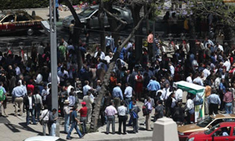 El Jefe de Gobierno del DF ha reportado que no hay daños visibles en la Ciudad de México. (Foto: AP)