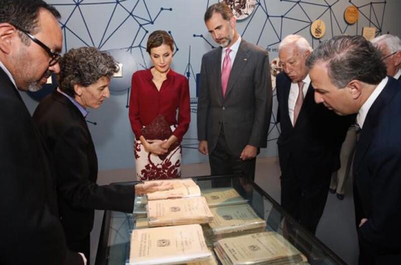 Durante su visita estuvieron acompañados por José Ramón Narro Robles, rector de la UNAM.