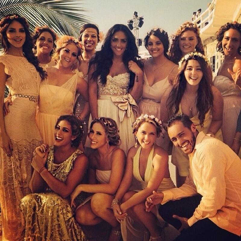 La boda de Alessandra y Emanuel fue el evento más comentado del fin de semana.