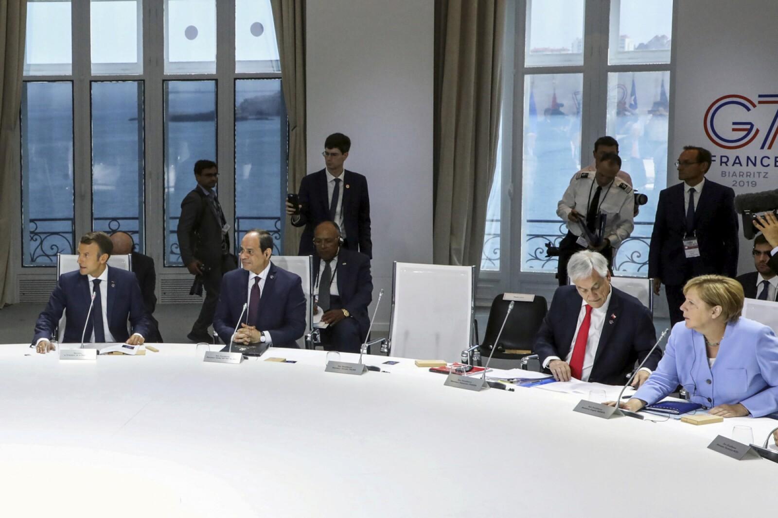G7 Cambio Climático Trump