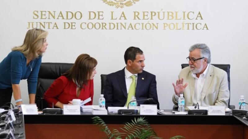 comisiones unidas ley transparencia