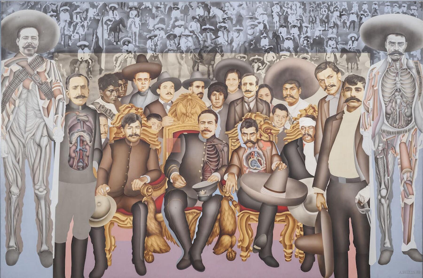 Entrada de los generales Zapata y Villa a la Ciudad de México.jpg